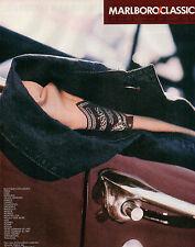 Publicité 1999  MARLBORO CLASSICS  vetement chaussure collection mode