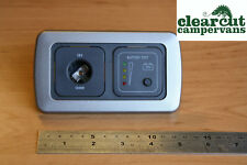 Campervan CBE 12v Socket with Battery Tester, VW T5, T4, Renault Trafic, Vito