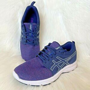 Asics Gel Womens Sz US 8 Torrance Purple Running Sneakers Navy Blue Shoes Comfy