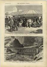 1878 Abercarn Colliery Disaster Devils Gate Wahsatch Mountains Bridge Of Jena