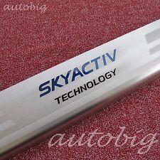 Steel Door Sill For Mazda3 2014-2018 BM BN Axela Scuff Plate Protector Accessory