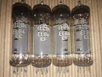 4 x TELAM EL84 6BQ5 Tubes
