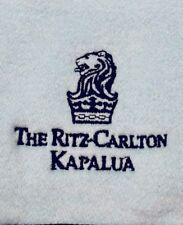 Ritz Carlton Kapalua Maui women's dress coat jacket light blue Large brand new