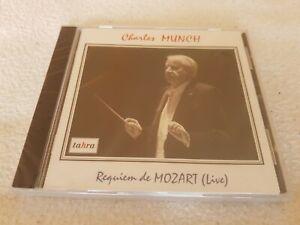 NEW CD Charles MUNCH CURTIN KOPLEFF MORGAN BOSTON SYMPHONY MOZART Requiem