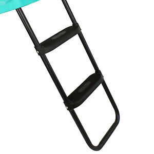 Skyhigh Deluxe Ladder for Trampolines 60cm High Comfortable and safe Wide Treads