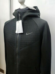 NIKE TECH PACK Woven Knit Men's Full Zip Hoodie, Medium - BV4617-010