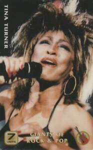 Telefoonkaart / Phonecard ongebruikt prepaid - Tina Turner