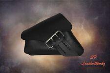 LaRosa 04-UP Harley-Davidson Sportster Left Side Saddle Bag LA FONDINA - Black