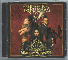 "Black Eyed Peas ""Monkey Business"" CD Autograph Signed Auto Fergie Will.i.am"