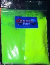Ultraviolet UV glow fluorescent pigment powder LIME
