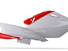 Polisport Honda Crf Paneles Laterales Crf 250 04 - 05 Blanco / Rojo
