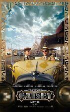 The Great Gatsby  movie poster - Leonardo Dicaprio - 11 x 17 inches (style e)