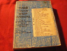 1988 Ford Medium & Heavy Duty Truck F B C 800 Thru 8000 Dealer's Service Manual