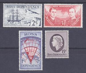 Ross Dependency Sc L5-L8 MNH. 1967 Decimal definitives, complete set, VF