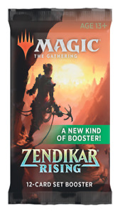 Zendikar Rising Set Booster Pack Booster Pack Magic MTG