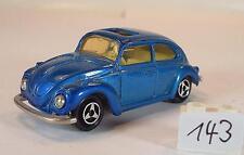 Majorette 1/60 Nr. 202 VW Volkswagen 1302 Limousine blaumetallic Nr. 3 #143