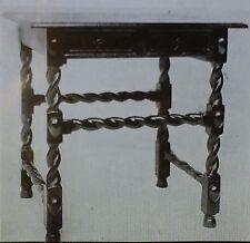 17th Century English Restoration Table, Walnut, Magic Lantern Glass Slide