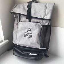 Nike Limited Edition Sports Backpack Bag Mercedes-Benz Logo Embroidered NWOT