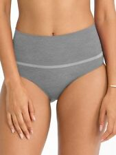 SPECIAL!! Spanx Everyday Seamless Shaping Briefs SS0715 Tipped Heather Gray Sz S