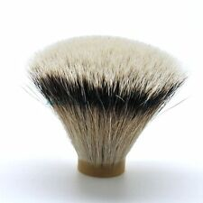 Frank Shaving Flat Top Silvertip Badger Hair Shaving Brush Knot 22-24MM