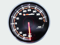 52mm BOOST TURBO GAUGE Kit PRO3 BF Meter Dual LED Colors Electrical - PSI Metric