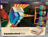 Comswitch 7500 Command Communications 4 Port Line Sharing Phone Fax Modem