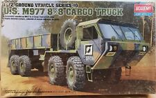 Academy Model Kit 1/72 US Army M977 8x8 HEMMT Cargo Truck Military Vehicle 13412