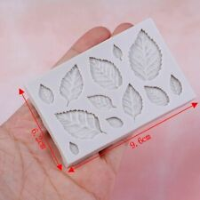 Mold Cake Silicone Leaf Frame Cakes Decoration Leafs Make Flower Candy Decor Top