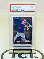 2012 Bowman Chrome MLB Baseball Prospects Bryce Harper RC PSA 9 Nationals