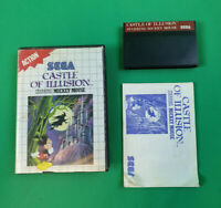Castle of Illusion starring Mickey Mouse - SEGA Master System Game CIB PAL