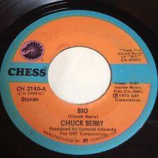 Chuck Berry: Bio / Roll 'Em Pete 45