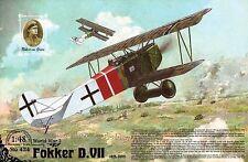 FOKKER D VII (KAIZERLICHE LUFTWAFFE ACES: GREIM, ROSENSTEIN, FRODIEN) 1/48 RODEN