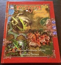 D&D 3.0 GREEN RACES FAF2500 D20 Dungeons and Dragons 3rd OGL 2002 Hardcover NEW!