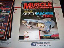 HEMMINGS MUSCLE MACHINES DECEMBER 2008