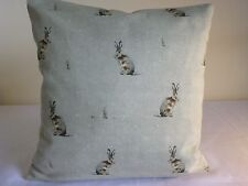 """16"""" cotton cushion cover French Farmhouse Country Fryetts Hare Hartley Cottage"""