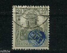 2 1/2 Pfg. Oppelner Ausgabe 1920 Stempelseltenheit Michel ON 2 Attest (S9196)
