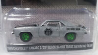 Error GREENLIGHT BLACK BANDIT 69 CHEV CAMARO Z/28 RAW GREEN MACHINE SUPER CHASE