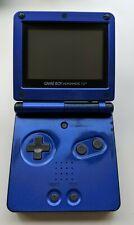 Nintendo Game Boy Advance SP Cobalt Blue ---FAULTY---