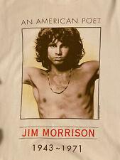 Jim Morrison American Poet The Doors 1999 Vintage T-Shir L