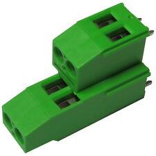 PTR printklemme regleta de 2 veces RM 2,54mm 100 x PCB screw terminal bloque