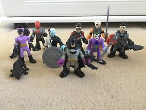 Imaginext DC Super Friends Blind Bag Mini Figures Choose Figure