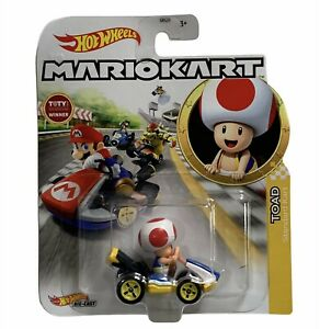 Hot Wheels Mariokart Die-Cast Toad Standard Kart Nintendo 2020 Toys Car