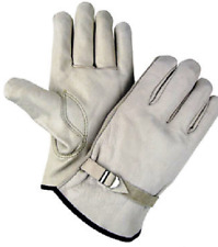 Gi Leather Firefighter Glove Heavy Duty Leather Cowhide Glove Size X Small 2pack