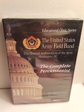 Educational Clinic Series: US Army Field Band Complete Percussionist (DVD) New