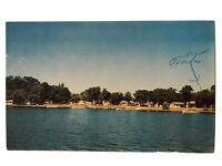 Abraham's Star Lake Resort, Dent, Minnesota MN Postcard - August 9, 1962