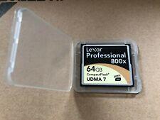 Lexar Professional 800x / 64GB Compact Flash UDMA 7