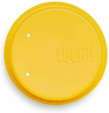 New listing Luumi Unplastic Lid with Straw - Reusable 100% Platinum Silicone Lid with Straw