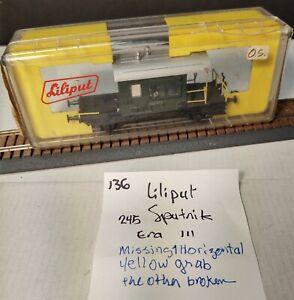 Liliput 245 SBB Db Sputnik era 3 has issues (twt 136)