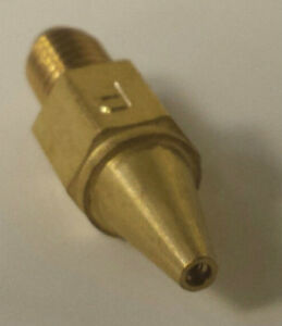 Model O Propane Tip - Size 4 (#4) - Lead Burning Torch Tips - Made in the UK