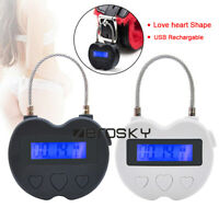 Bondage USB Rechargeable_Chastity Lock_Timer For Couples_Ankle Handcuf_Restraint